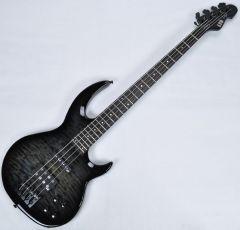 ESP LTD BB-1004QM Bunny Brunel Electric Bass in See Thru Black B-Stock LBB1004QMSTBLK