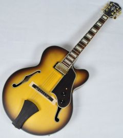 Ibanez AFJ91-AFF ARTCORE Expressionist Hollow Body Electric Guitar in Amber Fade Flat AFJ91JAFF