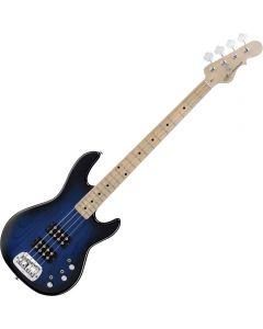 G&L Tribute L-2000 Bass Guitar in Blueburst Finish sku number TI-L20-BLB