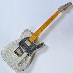 G&L ASAT Classic Bluesboy USA Custom Made Guitar in Silver Flake 103999