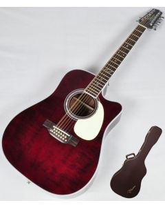 Takamine Signature Series JJ325SRC-12 John Jorgenson 12 String Acoustic Guitar in Gloss Polyurethane Finish sku number TAKJJ325SRC12
