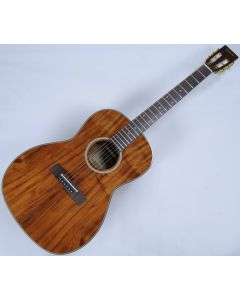 Takamine EF407 Legacy Series Acoustic Guitar in Gloss Natural Finish sku number TAKEF407