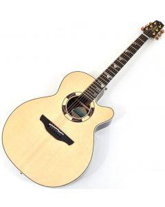 Takamine TSF48C Sante Fe NEX Legacy Series Acoustic Guitar in Gloss Natural Finish sku number TAKTSF48C