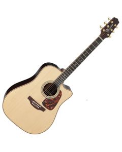 Takamine P7DC Pro Series 7 Acoustic Guitar in Natural Gloss Finish sku number TAKP7DC