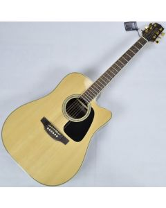 Takamine GD51CE-NAT G-Series G50 Cutaway Acoustic Electric Guitar in Natural Finish sku number TAKGD51CENAT