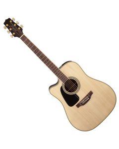 Takamine GD51CELH-NAT G-Series G50 Cutaway Left Handed Acoustic Electric Guitar in Natural Finish sku number TAKGD51CELHNAT