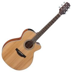 Takamine GN20CE-NS G-Series G20 Cutaway Acoustic Electric Guitar in Natural Finish TAKGN20CENS