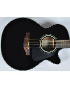 Takamine GF30CE-BLK Cutaway Acoustic Electric Guitar in Black Finish B-Stock CC130614201 TAKGF30CEBLK.B 4201