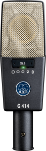 AKG C414 XLS Reference Multipattern Condenser Microphone 3059X00050