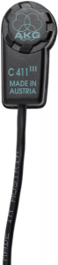 AKG C411 L High-Performance Miniature Condenser Vibration Pickup 2571Z00030