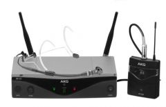 AKG WMS420 Headworn Set Band A Professional Wireless Microphone System 3413H00010