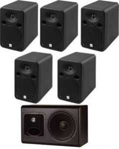 JBL LSR6325P/5.1 5 1 Surround System with RMC Room Mode Correction LSR6325P/5.1