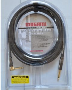 Mogami Platinum Guitar R Cable 12 ft. sku number PLATINUM GUITAR-12R