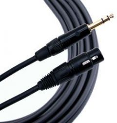 Mogami Gold TRS-XLRF Cable 15 ft. GOLD-TRSXLRF-15