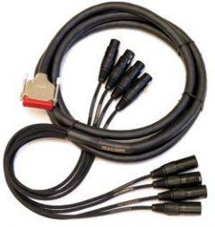 Mogami Gold AES TD DB25-XLR Cable 25 ft. GOLD AES TD DB25 XLR-25