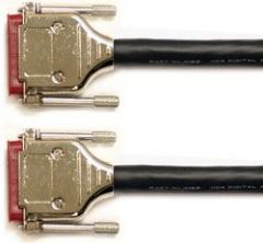 Mogami Gold AES DB25-DB25 Cable 10 ft. GOLD AES DB25-DB25-10