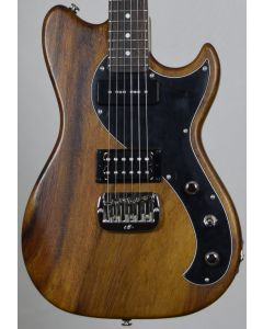 G&L fallout usa custom made monkey pod electric guitar in natural 111516