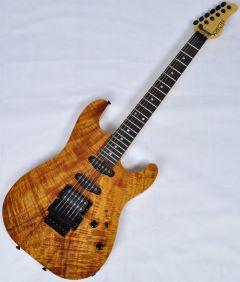 Schecter CET Koa Natural Gloss USA Custom Shop Electric Guitar SCHECTERUCETKNATSD