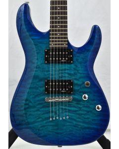 Schecter C-6 Plus Electric Guitar Ocean Blue Burst sku number SCHECTER443