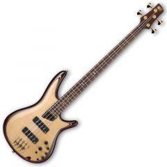 Ibanez SR1400E-NT SR Premium Series Electric Bass in Natural Finish SR1400ENT