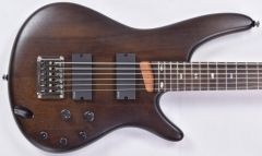 Ibanez SRC6 6 String Electric Bass in Walnut Flat B-Stock SRC6WNF.B