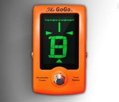 GoGo Chromatic True Bypass Pedal Tuner 98569