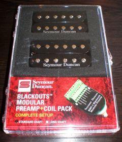 Seymour Duncan AHB-10S Blackouts Modular Preamp Full Set(Black) 11106-62-B