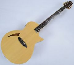 ESP LTD TL-6 Steel String Demo Acoustic Electric Guitar in Natural with Case LTL6NAT.B
