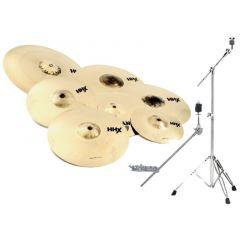 """Sabian HHX Super Set Cymbal Pack  w/free 10"""" and 18"""" - 15007XBS 15007XBS"""