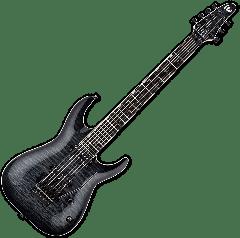 ESP LTD BS-7B Ben Savage 7 strings Baritone Electric Guitar in See Thru Black Sunburst LBS7BQMSTBLKSB