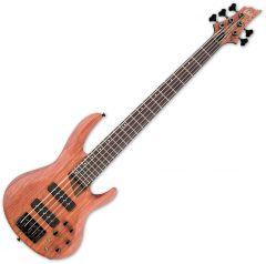 ESP LTD B-1005SE Bubinga Top Electric Bass in Natural Satin LB1005SEBNS