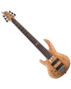 ESP LTD B-206SM Left-Handed Electric Bass in Natural Satin sku number LB206SMNSLH