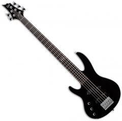 ESP LTD B-55 Left-Handed Electric Bass in Black LB55BLKLH