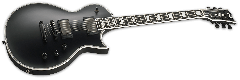 ESP E-II Eclipse Electric Guitar in Black Satin B-Stock EIIECBLKS.B