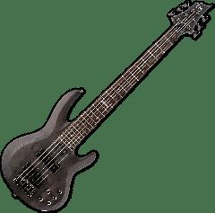 ESP LTD B-206SM Electric Bass in See Thru Black Satin B-Stock LB206SMSTBLKS.B