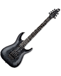 ESP LTD BS-7B Ben Savage 7 strings Baritone Electric Guitar B-Stock LBS7BQMSTBLKSB.B