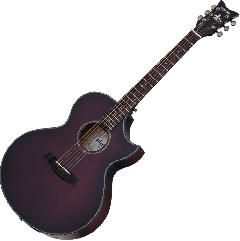 Schecter Orleans Stage Acoustic Guitar in Vampyre Red Burst Satin Finish SCHECTER3710