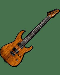 ESP LTD M-1000HT Koa Top Electric Guitar in Natural sku number LM1000HTKNAT