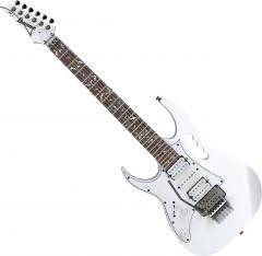 Ibanez Signature Steve Vai JEMJRL Left-Handed Electric Guitar White JEMJRLWH
