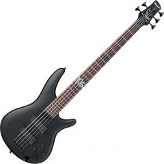 Ibanez Fieldy Signature K5 5 String Electric Bass Black Flat K5BKF