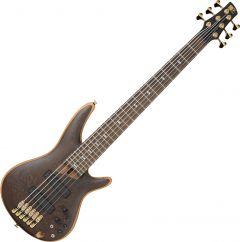 Ibanez SR Prestige SR5006 6 String Electric Bass Oil SR5006OL