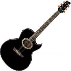 Ibanez Steve Vai EP10 Signature Acoustic Electric Guitar Black Pearl EP10BP