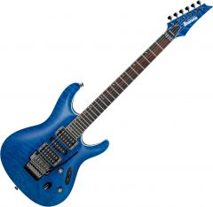 Ibanez S Prestige S6570Q Electric Guitar Natural Blue S6570QNBL