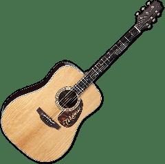 Takamine EF360STT Thermal Top Acoustic Guitar in Natural Finish TAKEF360STT