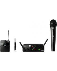 AKG WMS40 Mini Dual Vocal Instrumental Set - Channels A/B sku number 3352X00050
