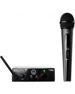 AKG WMS40 Mini Single Vocal Set Wireless Microphone System - Band C sku number 3347X00130