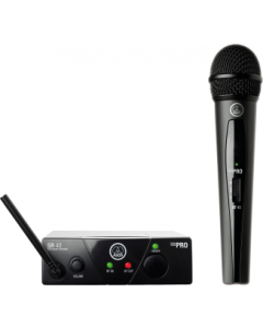 AKG WMS40 Mini Single Vocal Set Wireless Microphone System - Band D sku number 3347X00140