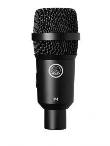 AKG P4 High Performance Dynamic Instrument Microphone 3100H00130