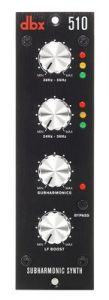 dbx 510 Subharmonic Synthesizer - 500 Series DBX510