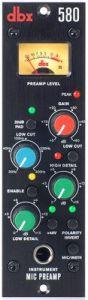 dbx 580 Mic Preamp - 500 Series DBX580